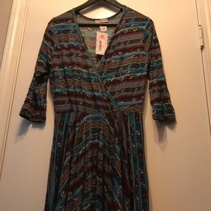 New Pretty Young Thing Dress size XL Multicolor